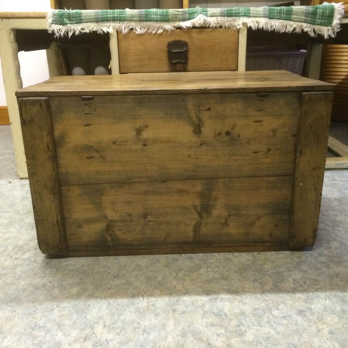 Old Blanket Box Vintage Pine Etc Ltd